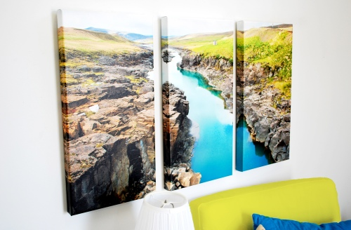 Triptych Three Panel Split Posterjack Canvas Prints
