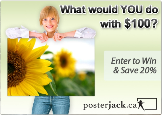 Win a Gift Certificate From Posterjack