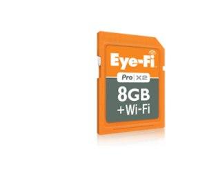 Eye-Fi Pro X2 memory card