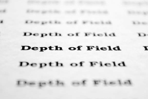 Depth of Field Photography Text Typed Words
