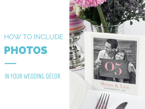 Ideas and Tips on Including Photography When Decorating for a Wedding