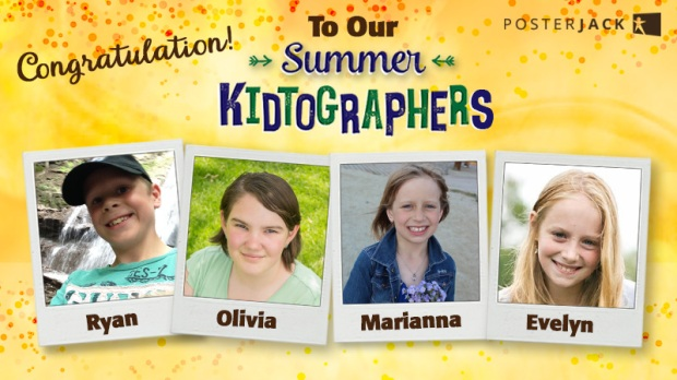 Summer Kidtographer Announcement