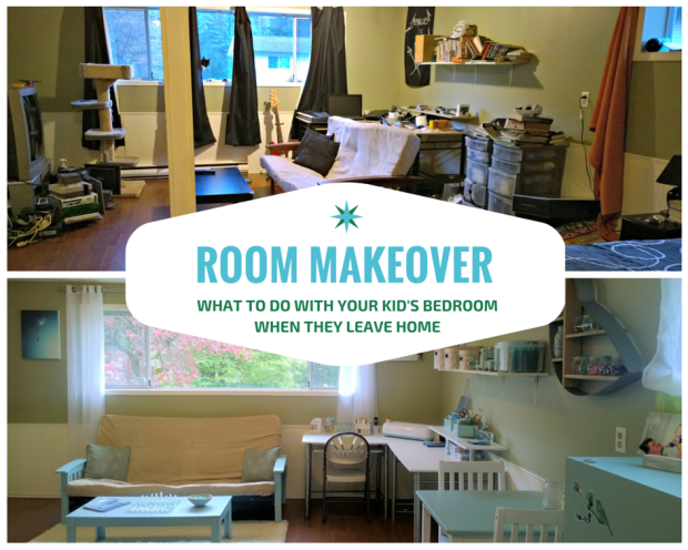 Room Makeover Before and After Photos Spare Bedroom and Craft Room