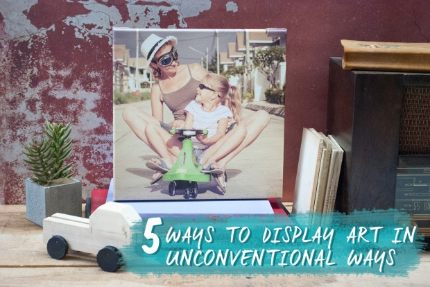 5 Ways to Display Art in Unconventional Ways