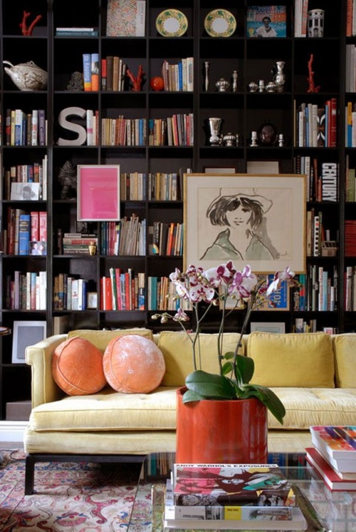 Art on Bookshelves 1