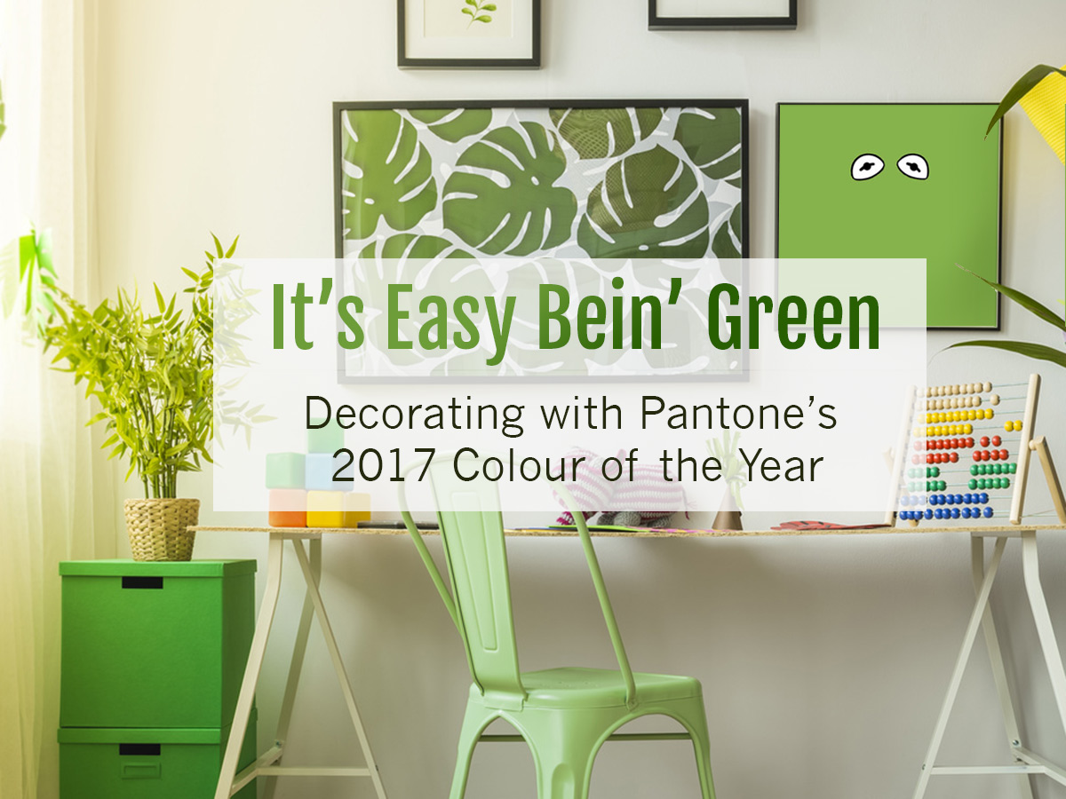 Pantone s colour of the year 2017 greenery in kids rooms - It S Easy Bein Green Decorating With Pantone S 2017 Colour Of The Year Room Decor Greenery Kid S