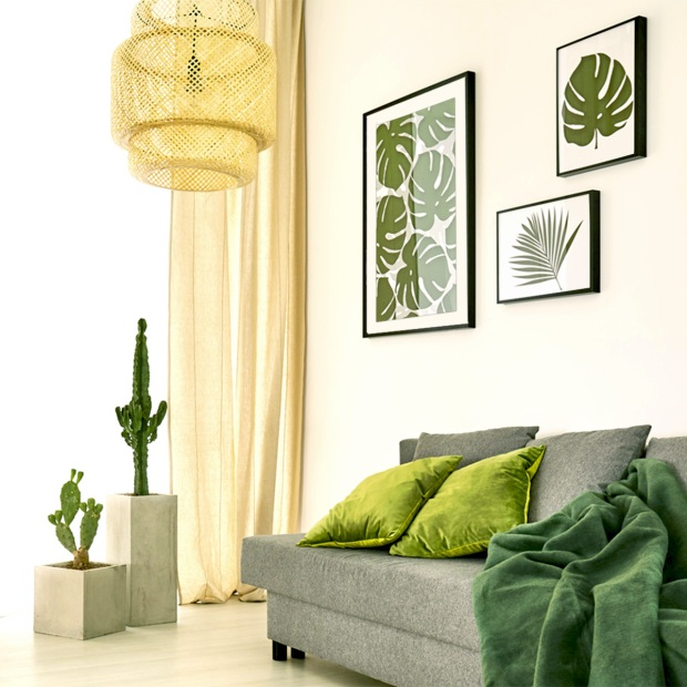 Adding Texture and Greenery to Home Decor